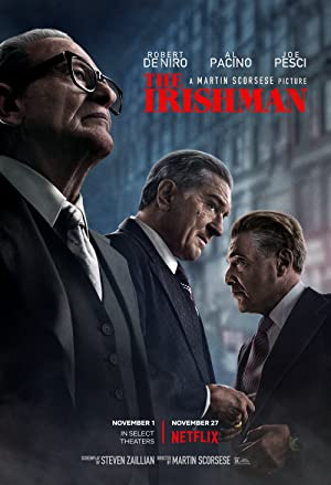 The Irishman (2019) WEBRip 1080p YTS YIFY
