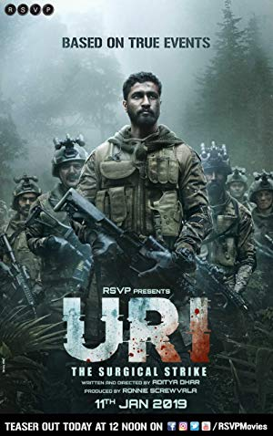 Uri The Surgical Strike 2019 Hindi PreDvDRip x264 Full Hindi Movie [HD7K]