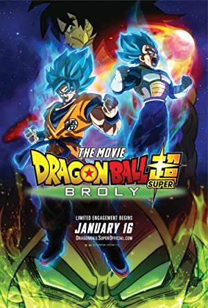 Dragon Ball Super: Broly (2018) DUBBED 720p HDRip 850MB - MkvCage