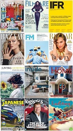 40 Assorted Magazines - July 09 2019