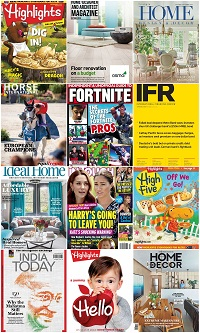 40 Assorted Magazines - October 08 2019