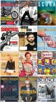 50 Assorted Magazines - January 13 2020